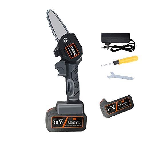 Mini Sierra de Cadena a Bateria, Motosierra eléctrica ultraligera a batería de...