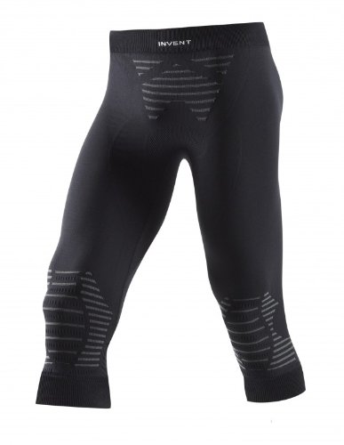 X-Bionic Erwachsene Funktionsbekleidung Man Invent UW Pants Medium, Black/Anthracite, S, I020285