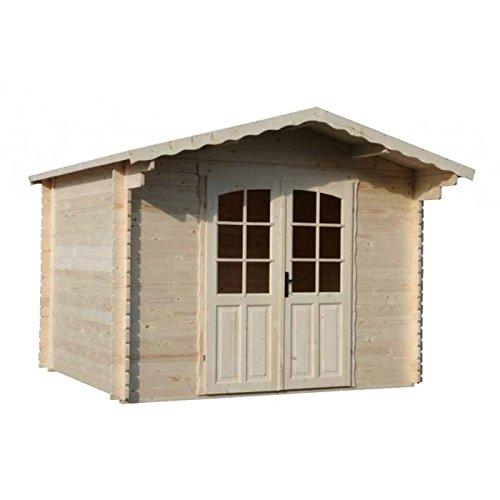 Casetta in legno blockhaus Prinston mm 3000 x 2500 x 2350h