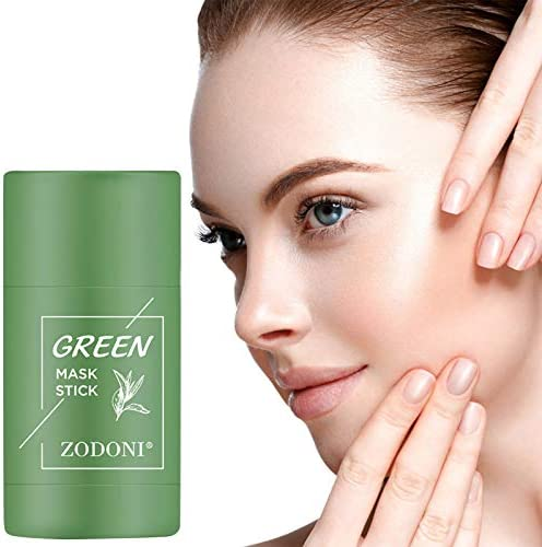 Green Tea Purifying Clay Stick Mask Natural Face Moisturizes Oil Control Blackhead Remover Acne product image