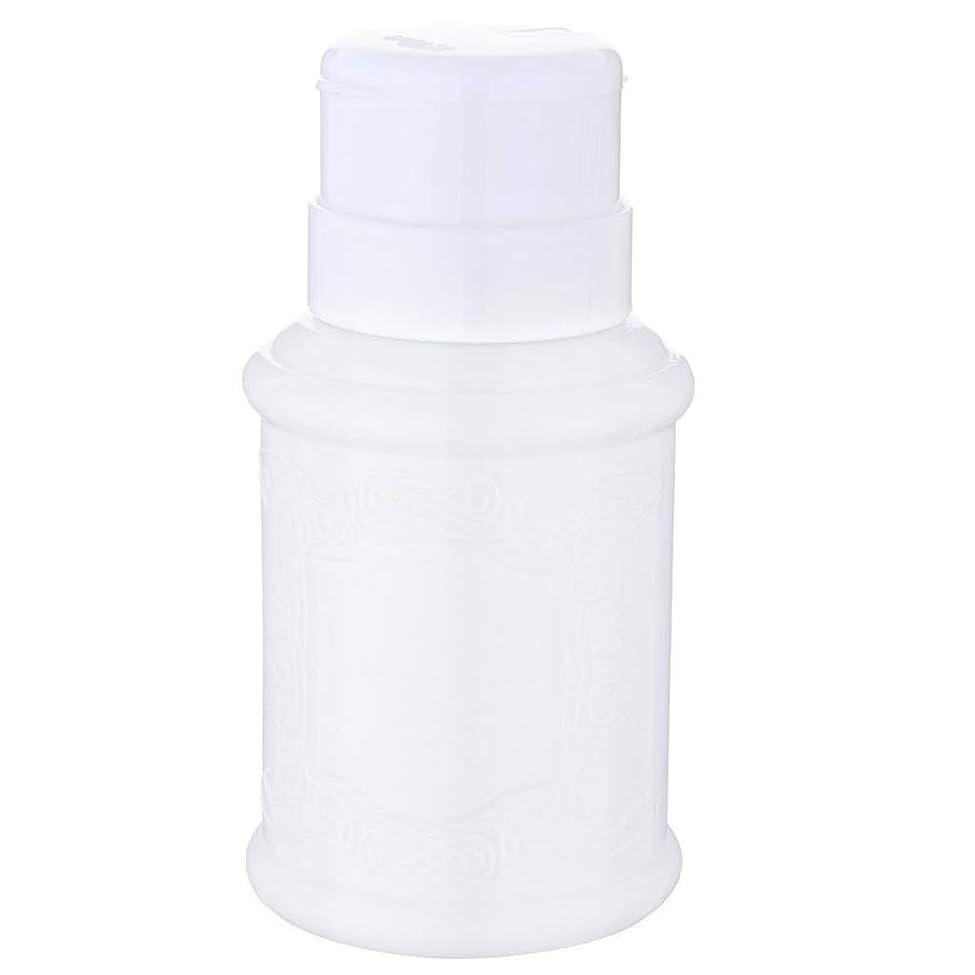 屋内で戦う司教T TOOYFUL 空ポンプ ボトル ネイルクリーナーボトル ポンプディスペンサー ネイル ポンプディスペンサー 全3色 - 白