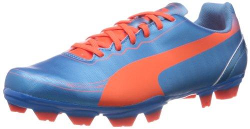 Puma Herren evoSPEED 5.2 FG Fußballschuhe, Blau (sharks blue-fluro peach-fluro yellow 05), 44.5 EU