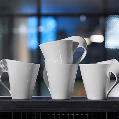 Villeroy and Boch Café Right Handed XL Mug 0.35ltr - White