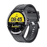 Smartwatch,1.3 Voll Touch Screen Fitness Armbanduhr mit Pulsuhr Fitness Tracker 5ATM Wasserdicht Sportuhr Smart Watch mit Schrittzähler, Stoppuhr, Schlafmonitor für Herren Damen mit Android und IOS