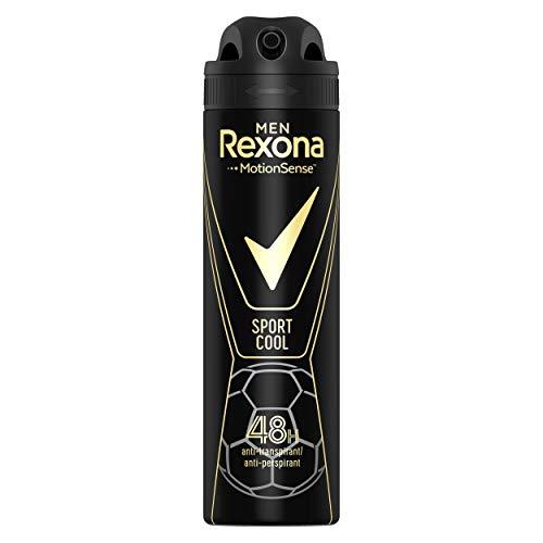 Rexona Men Sport Cool deodorantspray voor heren, per stuk verpakt (1 x 150 ml)