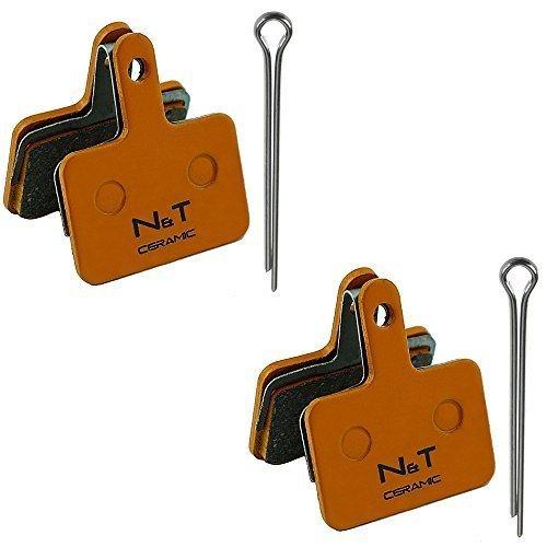 2x Noah and theo nt-bp004 / CR Cerámica Pastillas Frenos compatible con Shimano BR M315 M355 M365 M375 M395 M415 M416 m416a M445 M446 M447 M465 M475 M485 M486 M495 M505 M506 M515 m515la M525 M575