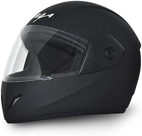 Vega Cliff DX CLF-DX-DK_M Full Face Helmet (Dull Black, M)