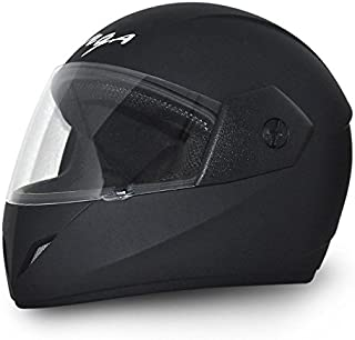 Vega Cliff DX CLF-DX-DK_L Full Face Helmet (Dull Black, L)