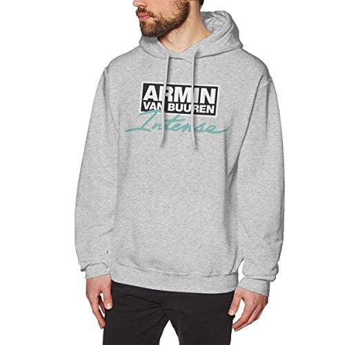Armin Van Buuren - Sudadera con capucha para hombre, manga larga, con capucha