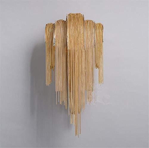 Zhenyue wandlamp Zhenyue smeedijzer, eiken, nachtkamer, trap, hal, LED, moderne wanddecoratie Zhenyue