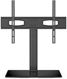 TV BASE Stand, Black, For 30 inch to 65 inch Television, Adjestable