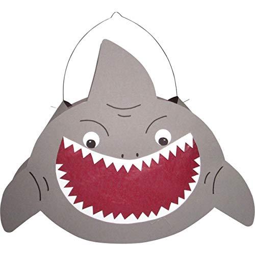 Prell Laternen Bastelset Hai, 8 Stück