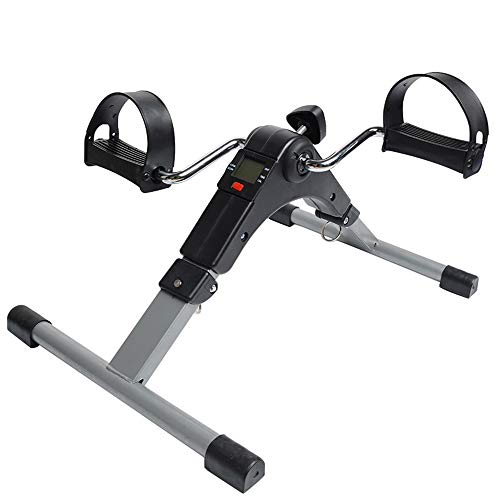 IUANUG Tragbare Fitness Stepper Laufband Cardio Fitness Stepper Bein Maschine Home Gym Übung Mini Spinning Bike