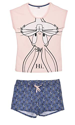 Looney Tunes Damen Kurz Pyjama Schlafanzug