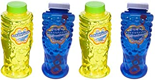 4 Pack Bacon Bubbles and Peanut Butter Bubbles - Two 8oz Bottles of Each - Non Toxic, Tear Free and Safe for Dogs and Kids