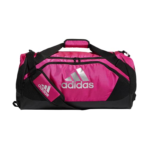 adidas Team Issue II - Bolsa de Viaje (tamaño Mediano), Color Rosa