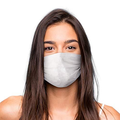 Mascarilla Higienica Premium Reutilizable UNISEX - Color Blanco