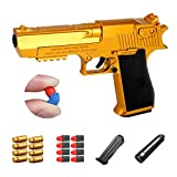 Soft Bullet Toy Gun, Safe Soft Bullet, Simulated Reality Reload, Foam Bullet, Safe and Secure, Cool Toy, Great for Boys and Girls