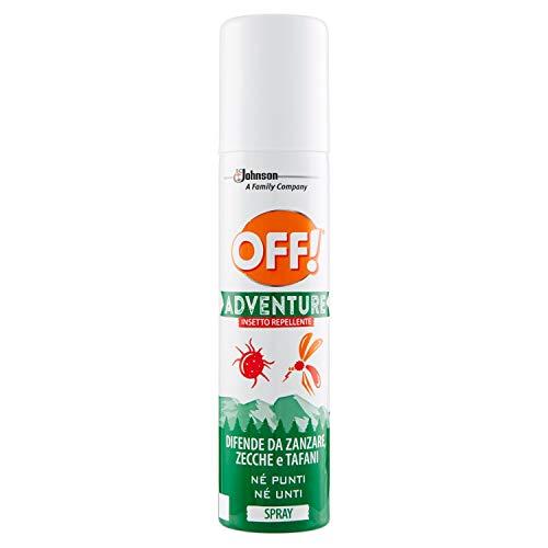 OFF! Adventure Spray – Insecticida y antimosquitos, 2 unidades