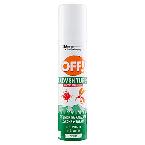 Off! Adventure – Insecto Repelente Spray – 2 paquetes de 100 ml