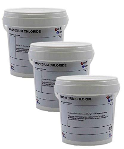 Magnesium Chloride Flakes Dead Sea Salts 500g (x3)