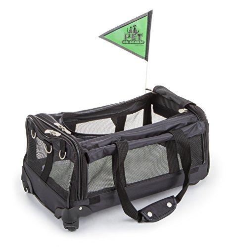 Sherpa on Wheels Pet Carrier, Black