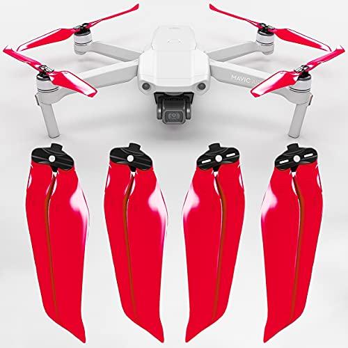 Eliche Stealth MAS per DJI Mavic Air 2 - Rosso 4 pezzi