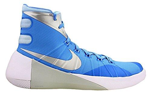 Nike Mens Hyperdunk 2015 Basketball Shoe (12, Tumbled Grey/Night Silver/Deep Pewter/Black)