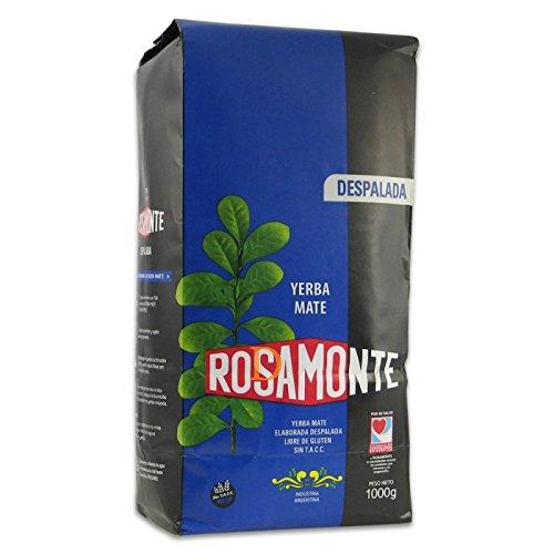Mate Tee Rosamonte Despalada (ohne Stängel) - Mate Tee aus Argentinien 1kg