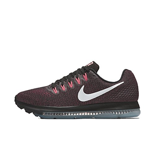 Nike Womens Zoom all out Low Low Top Lace Up, Black/White-Lava Glow, Size 6.5