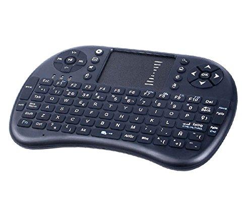 Mini Teclado INALAMBRICO 2.4G con TOUCHPAD Smart TV MTK: Amazon.es: Electrónica