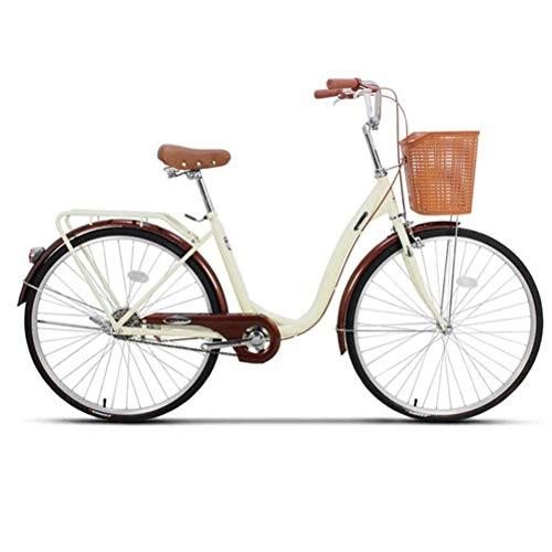 Bicicleta Urbana De Cercanías, Bicicleta Urbana para Mujeres, Bicicleta Ligera Ligera para...