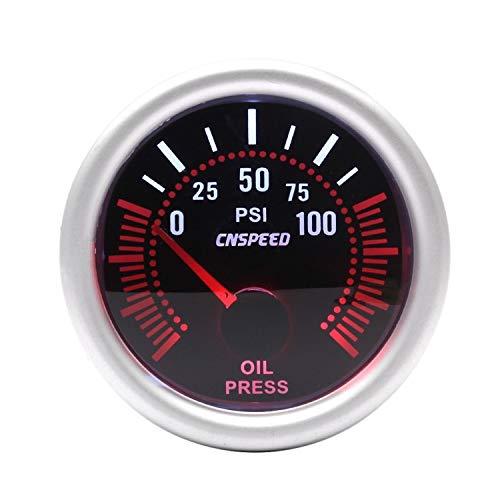 Dhmm123 Digital 2 ''52mm Auto Öldruckanzeige 0-100PSI Universal Len Mit Ölpresse Sensor Auto Manometer Spezifisch