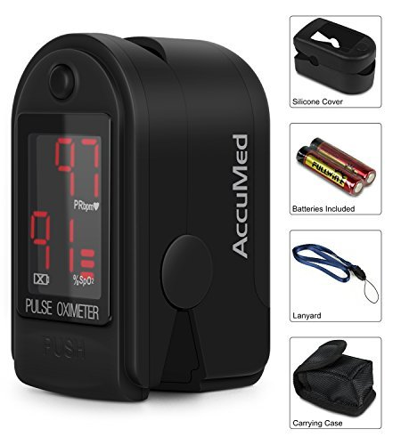 41WkZ7OOd1L - AccuMed CMS-50D1 Fingertip Pulse Oximeter