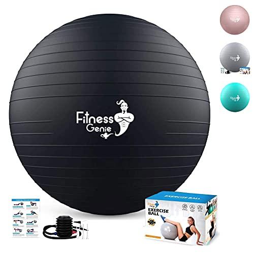 Pelota de Pilates Embarazadas 55cm – Fitness Yoga Fitball para Ejercicios Gimnasia |...