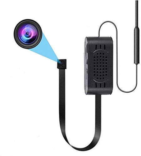 1080P Telecamera Mini WiFi Telecamera Videocamera Wireless con Videocamera di Sicurezza Rilevazione di Movimento con App Telefono per Android iOS