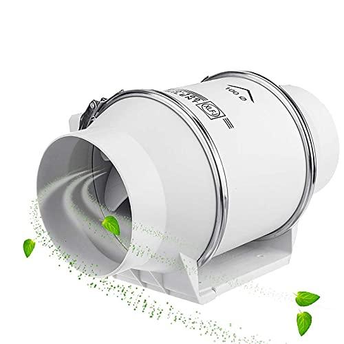 Ventilador de escape, extractor de baño, ventilador de conducto en línea, ventilador de ventilación de bajo ruido, ventilador de escape para baño, oficina, hotel, hidropónico