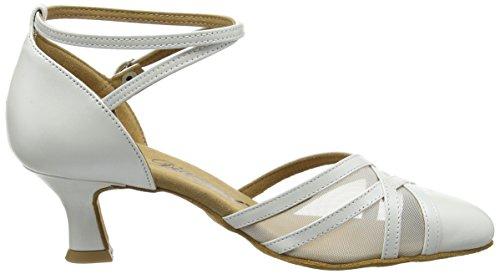 Diamant Diamant 147-068-391 Damen Tanzschuhe – Standard & Latein, Damen Tanzschuhe – Standard & Latein, Elfenbein (Perlato Weiß), 38 EU (5 Damen UK) - 6