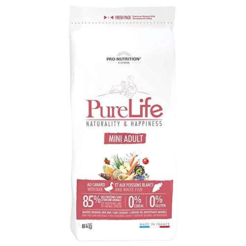 PRO-NUTRITION FLATAZOR Pure Life 8 kg Naturality & Happiness Mini Adult Hundefutter
