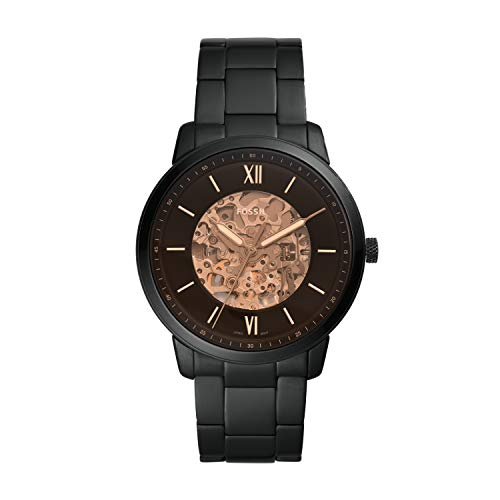 Fossil Neutra Automatic Analog Black Dial Men's Watch-ME3183