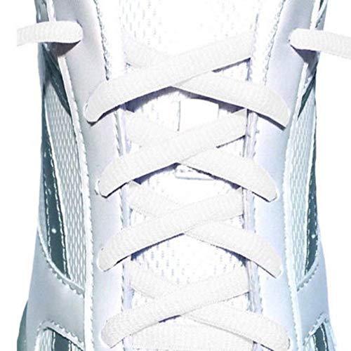 1pcs Cordón de poliéster plano Cordón de color Calzado deportivo Zapatillas de...