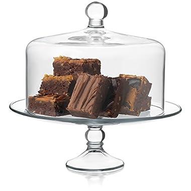 Libbey Selene 2-piece Cake Dome