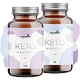 MAGRIFIT KETO – Viva il metabolismo! – Complemento per la dieta keto – Con olio di cocco MCT e amminoacidi HMB