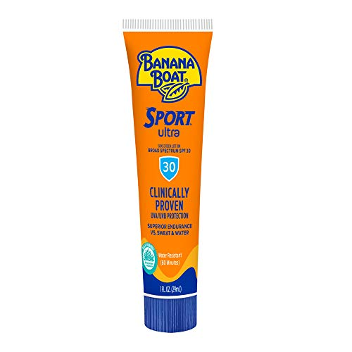 Banana Boat Sport Ultra, Reef Friendly, Broad Spectrum Sunscreen Lotion, SPF 30, 1oz. - Pack of 24