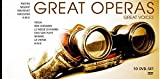 Various Artists - Great Operas-Great Voices (10 DVDs / PAL) [Alemania]