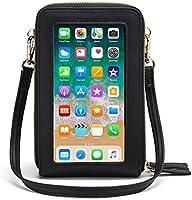 Women Touch Screen Crossbody Phone Purse, RFID Shoulder Handbags Credit Card Wallet