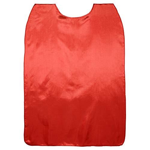 SeasonsTrading 48' Long Shiny Red Satin Superhero Cape - Adult Costume...