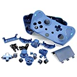 PartEGG Full Housing Shell Custom Set Replacement with Full Complete Spare Button Parts for Xbox One Wireless Controller Sport Blue Special Edition
