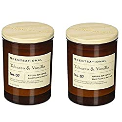 Scentsational Apothecary-Tobacco & Vanilla Candle (2)