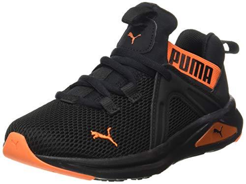PUMA Enzo 2 Weave AC PS, Sneaker Unisex-Bambini Black/Dragon Fire, 31 EU